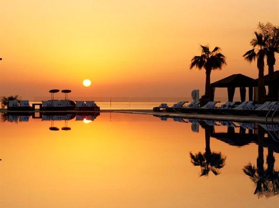 Pool at Sunrise